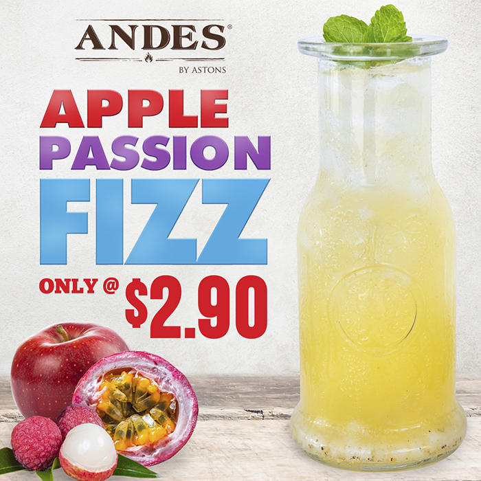 ANDES Promo - Apple Passion Fizz