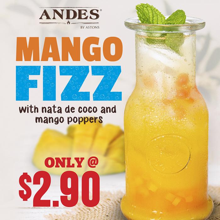 ANDES Promo - Mango Fizz