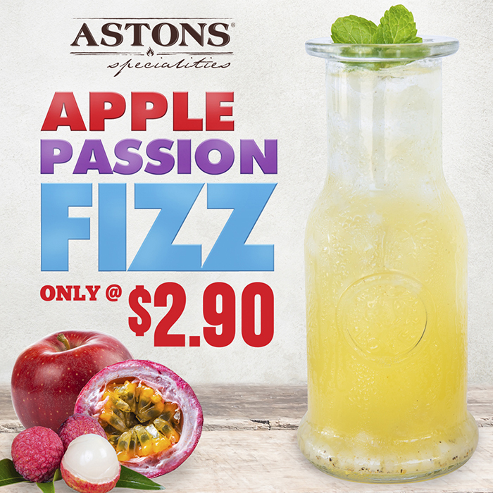 ASTONS Specialities Promo - Apple Passion Fizz
