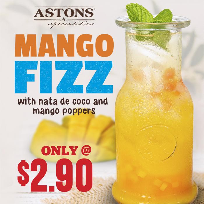 ASTONS Specialities Promo - Mango Fizz