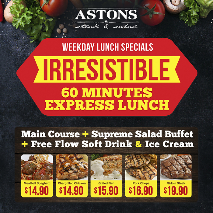 ASTONS SteaknSalad Promo