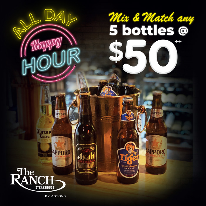 The RANCH Beer Bundle $50 Promo (Square)